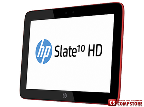 "Планшет HP Slate 10 HD 3604er (F4X36EA) (ARM Cortex™ Marvell Dual-Core PXA986 (1,2 ГГц)/ 16 GB/ Display 10""/ 3G+/ Wi-Fi/ Bluetooth/ Android Jelly Bean)"