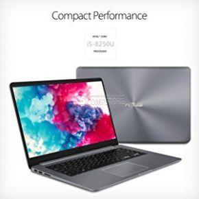 ASUS F510UA-AH51 (Intel® Core™ i5-8250U/ DDR4 8 GB/HDD 1 TB/ FHD 15.6/ Intel HD/ Wi-Fi/ DVD/ Win10)