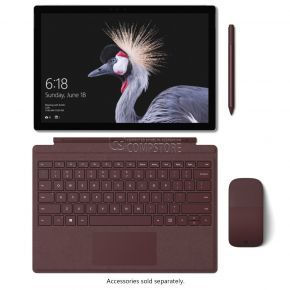 Microsoft Surface Pro 5 (FJR-00001) (Intel® Core™ M3-7Y30 / DDR4 4 GB/ Intel HD/ SSD 128 GB/ QHD HD 12.3-inch PixelSense / Wi-Fi/ Webcam 8MP/ Win10)