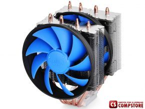 DeepCool FROSTWIN Cooler (LGA2011/ 1366/ 1156/ 1155/ 1151/ 1150/ 775 and AMD FM2/ FM1/ AM3+/ AM3/ AM2+/ AM2)