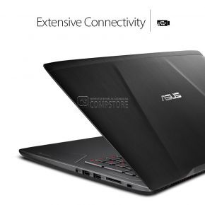 ASUS FX502VM-AS73  (Intel® Core™ i7-7700HQ/ DDR4 16 GB/ NVIDIA® GeForce® GTX 1060/ SSD 128 GB/ HDD 1 TB/ 15,6-inch FHD IPS/ Wi-Fi/ Win10)