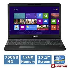 ASUS G75V-RH71 Republic Of Gamers (Intel® Core™ i7-3630QM/ DDR3 12 GB/ HDD750 GB 7200rpm/ nVidia GeForce GTX 670 3 GB/ Full HD LED 17.3
