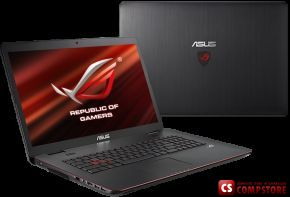 ASUS Republic Of Gamers G771JW-T7128H (90NB0856-M01560) (Intel® Core™ i7-4720HQ/ DDR3L 16 GB/ NVIDIA GeForce GTX960M/ HDD 1 TB/ 17.3