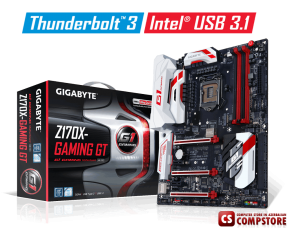 Mainboard Gigabyte GA-Z170X-Gaming GT (Intel® Z170 Chipset/ DDR4/ 1151 Socket)