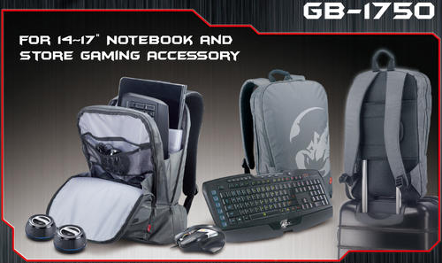 Genius GB-1750 GX Gaming Backpack