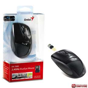 Genius DX-7000 2.4 GHz Wireless Optical BlueEyes Mouse