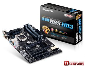 Mainboard Gigabyte GA-B85-HD3 (Intel® B85 Chipset / LGA1150)
