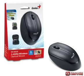Genius DX-6020 2.4 GHz Wireless Optical Mouse