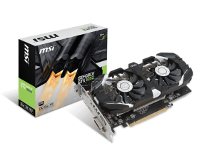 MSI GEFORCE® GTX 1050 2GT OC (2 GB | 128 Bit)