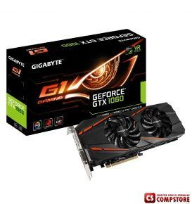 GIGABYTE GEFORCE® GTX 1060 G1 Gaming (GV-N1060G1GAMING-6GD) (6 GB | 192 Bit)