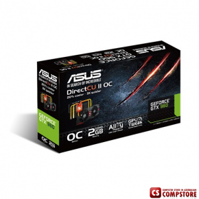 Asus GTX960 Black Edition 2 GB 128 Bit (GTX960-DC2OC-2GD5-BLACK)