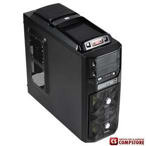 Игровой Корпус Gigabyte GZ-G1 Plus (Gaming chassis 0,60mm Front : 2 x 12 cm fan Rear: 1*8cm fan / ATX /Tool-less)