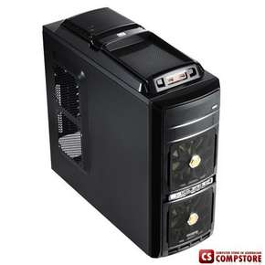 Игровой Корпус Gigabyte GZ-G2 Plus (Gaming chassis 0,60mm Front : 2 x 12 cm fan Rear: 1*8cm fan Top: 1 x 12 cm Fan  and 2*USB 2.0 ports HD Audio 2*USB 3.0 ports  / ATX /Tool-less,  GOLD)