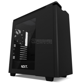 NZXT H440 Black Windowed Mid Tower Gaming Case (CA-H442W-M8)