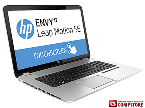 "ноутбук HP ENVY 17-j100er Leap Motion TS SE (F5B51EA) (Intel® Core™ i7-4702MQ/ DDR3 8 GB/ HDD 1000 GB/ nVidia GeForce GT750 4 GB/ TouchSmart  HD LED17.3"" Leap Motion/ Windows 8.1)"