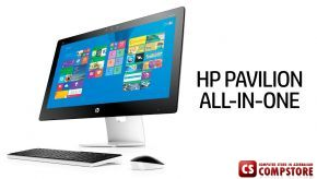"HP Pavilion 27st AIO Monoblok (Intel® Core™ i7-6700T/ DDR3 12 GB/ TouchScreen HD 27""/ HDD 1 TB/ Radeon R7 4 GB/ Win10)"
