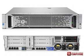 Сервер HP ProLiant DL180 Gen9 (K8J97A) (Intel® Xeon® E5-2609 v3 (15M Cache, 1.90 GHz/ DDR4 8 GB/ 1TB 6G SATA 7.2k 3.5in SC MDL HDD)