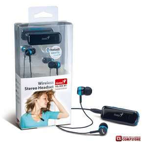 Bluetooth headset Genius HS-905BT Блутуз гарнитура for Phone/ iPad/ Tablets/ PC