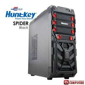 Игровой корпус Huntkey SPIDER Black Gaming Case