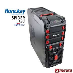 Игровой корпус Huntkey SPIDER RED Gaming Case