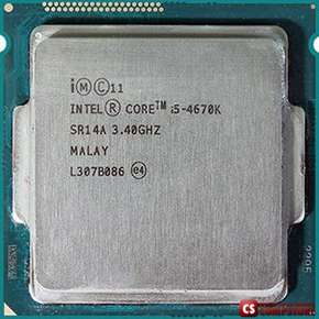 Intel® Core™ i5-4670K Processor (6M Cache, up to 3.80 GHz)