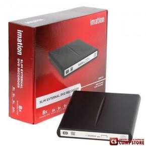 External DVD +/-R RW  Slim Imation