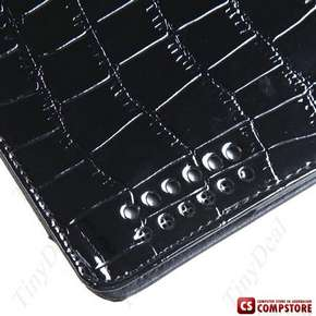 Alligator Skin Pattern Protective Case Synthetic Leather Shell Cover Traveling Companion for Apple iPad 2