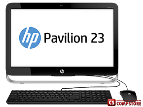 "Моноблок HP Pavilion 20-b115l (H5X93AA) (Intel® Core™ i5-4590T/ DDR3L 8 GB/ 2 TB/ 23"" Full HD WLED/ Intel HD4600/ Windows 8.1 64 bit/ Bluetooth/ Wi-Fi/ DVD RW)"