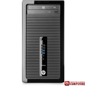 "Компьютер HP ProDesk 400 MT (K8K73EA) (Core i5-4590S/ DDR3 4 GB/ HDD 500 GB/ DVDRW/ HP V201a 19.5"")"
