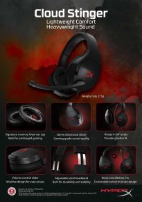 Kingston HyperX Cloud Stinger Headset