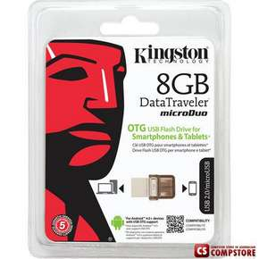 Kingston DataTravele 8 GB USB OTG Flash Drive