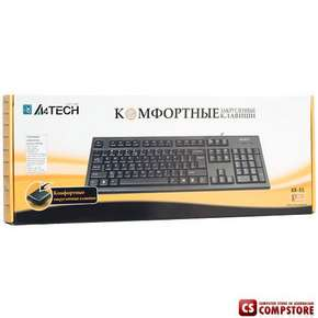 Клавиатура  A4Tech KR-85 Comfort RoundEdge Keyboard PS2