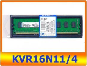 DDR3 Kingston 4 GB PC3-12800CL (KVR16N11/4)