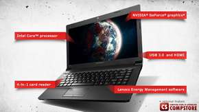 "Ноутбук Lenovo B590 (20208) WB0312130A (Intel® Pentium® 2020M/ DDR3 4 GB/ HDD 500 GB/ nVidia GeForce GT720 1 GB/ HD LED 15.6""/ Bluetooth)"