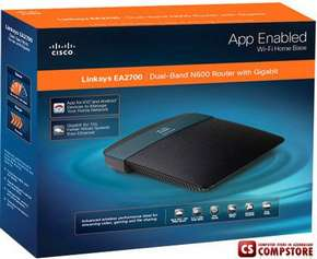 Linksys EA2700 Wireless Router EA2700 Dual-Band N600