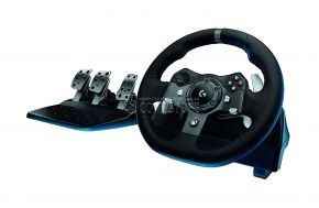 Logitech G920 Dual-Motor Feedback Driving Force Racing Wheel
