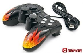 Genius MaxFire Blaze 3 Vibration USB Joystik for Computer & Sony PS3 (31610060101)