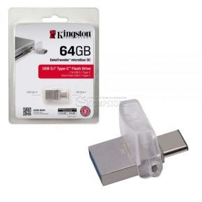 Kingston DataTraveler MicroDuo 3C 64 GB (USB C-Type 3.1)