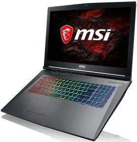 MSI GF72VR 7RF-650  (Intel® Core™ i7-7700HQ/ DDR4 16 GB/ SSD 256 GB/ HDD 1 TB/ FHD 17.3 120 MHz/ GeForce GTX1060  6 GB/ Wi-Fi/ DVD/ Win10)