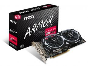 MSI RADEON® RX 580 ARMOR 4GB OC Gaming (4 GB | 256 Bit) CrossFire VR Ready FinFET