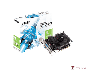 MSI GEFORCE® GT 730 (N730-2GD3) (2 GB | 128 bit)