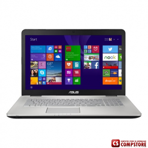 "Asus N751JK (90NB06K2-M02250) (Intel® Core™ i7-4710HQ/ DDR3L 16 GB/ NVIDIA GeForce GTX850M/ HDD 2 TB/ 17.3"" FHD LED)"