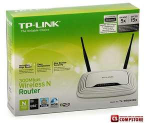 TP-Link TL-WR841ND Wireless N Router 300 Mbps