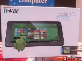 "Планшет i-Nix NTB-1001 Tablet PC ( 10"" Touchscreen/ 1.5 GHz CPU/ 1 GB DDR3/ 4 GB Storage/ Android 4.0 Ice Cream Sandwich/ Wi-Fi)"