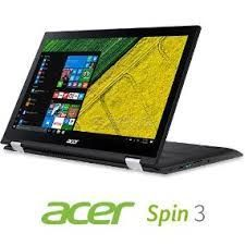 ACER Aspire Spin 3 SP315-51-757C (NX.GK9AA.021) (Intel® Core™ i7-7500U/ DDR4 12 GB/ HDD 1 TB/ Touch IPS LED FHD 15.6-inch/ Wi-Fi/ Win10)