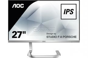 Monitor AOC Porsche Design 27-inch (PDS271/89,ME) (IPS WLED | HDMI | FHD | eSaver | 4ms)