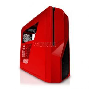 NZXT Phantom 410 RED Mid Tower Gaming Case (CA-PH410-R1)