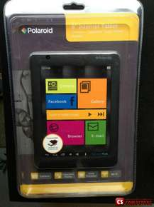 "Планшет Polaroid PMID800 (Cortex A8 1 GHz/ 512 MB DDR3/ 4 GB up to 32 GB/ 8"" Multi Touch/ Mali400/ Android 4.0 Ice Cream Sandwich)"