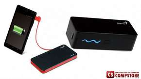 Genius PowerBank ECO-U261  (Black, Capacity : 2600 mAh)