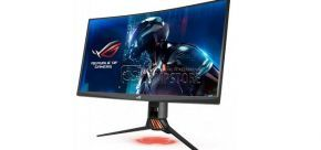 ASUS ROG Swift PQ27VQ Gaming Monitor 27-inch 2K Curved Gaming Monitor (QHD | HDMI | 1ms | 165Hz | GameFast | G-Sync™)